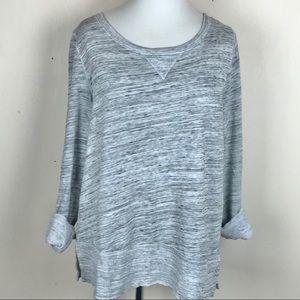 Splendid Gray Classic Lightweight Sweatshirt